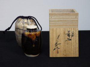 大阪にて茶道具の茶入れを出張買取