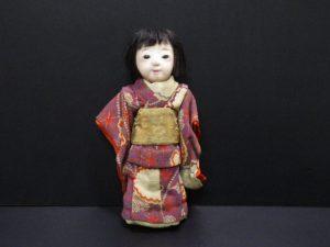 古い抱き人形を奈良で出張買取しました。