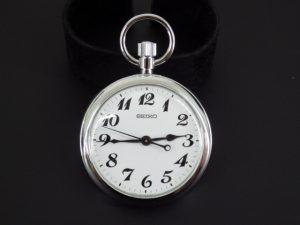 SEIKO セイコー 鉄道時計 懐中時計を奈良で出張買取しました。