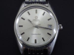 を奈良でアンティーク腕時計 OMEGA オメガ シーマスターを出張買取しました。