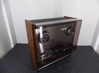 TEACのオープンリールデッキ A-3300SXを奈良で出張買取しました。